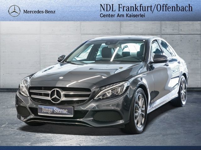 verkauft mercedes c200 d gebraucht 2016 km in frankfurt am main. Black Bedroom Furniture Sets. Home Design Ideas