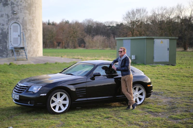 verkauft chrysler crossfire reduziert gebraucht 2007 km in duisburg. Black Bedroom Furniture Sets. Home Design Ideas