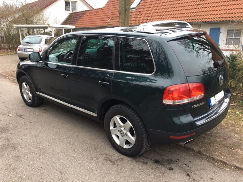 verkauft vw touareg 3 0 v6 tdi dpf aut gebraucht 2006 km in escheburg. Black Bedroom Furniture Sets. Home Design Ideas