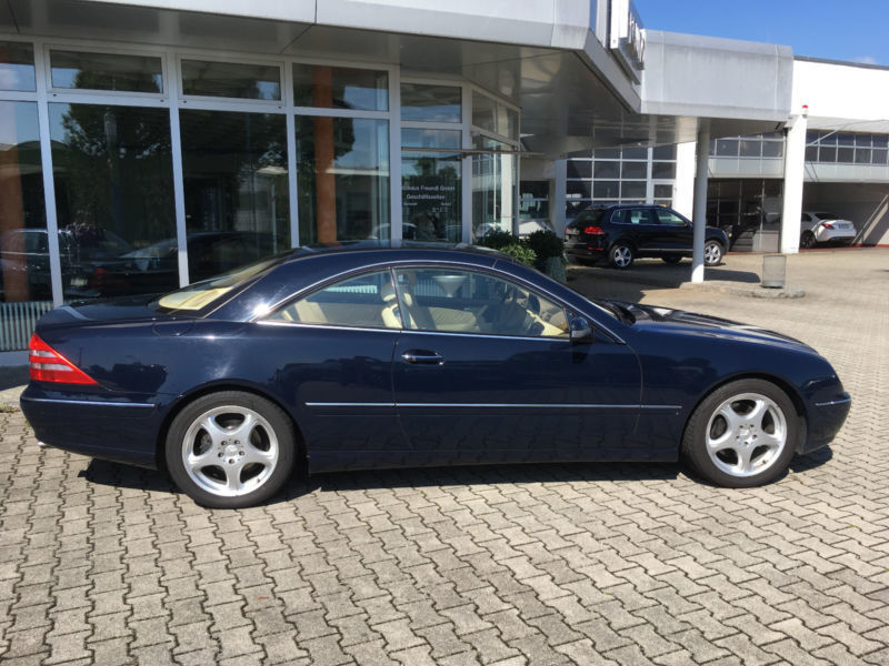 verkauft mercedes cl500 exclusive keyl gebraucht 2000 km in burghausen. Black Bedroom Furniture Sets. Home Design Ideas