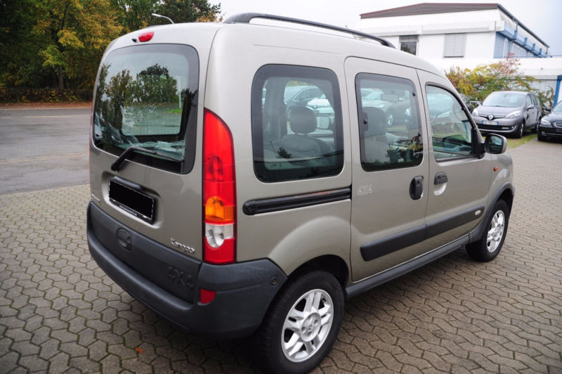 gebraucht 4x4 1 9 dci expression renault kangoo 2004 km in dietzenbach. Black Bedroom Furniture Sets. Home Design Ideas