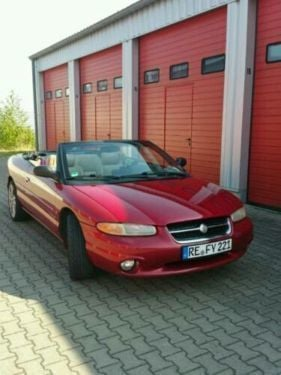 verkauft chrysler stratus lx 2 5 cabrio gebraucht 1997. Black Bedroom Furniture Sets. Home Design Ideas