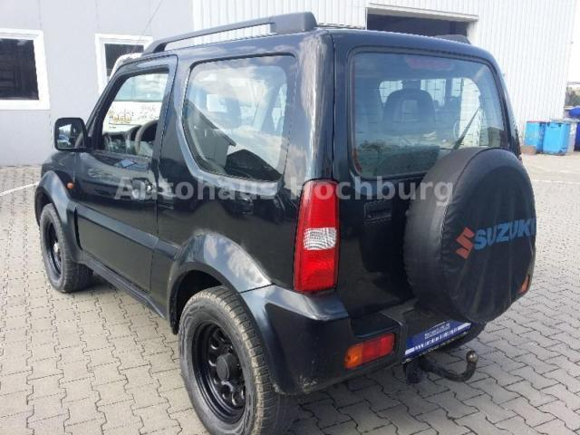 verkauft suzuki jimny cabrio auspuff n gebraucht 2001 km in thierhaupten. Black Bedroom Furniture Sets. Home Design Ideas