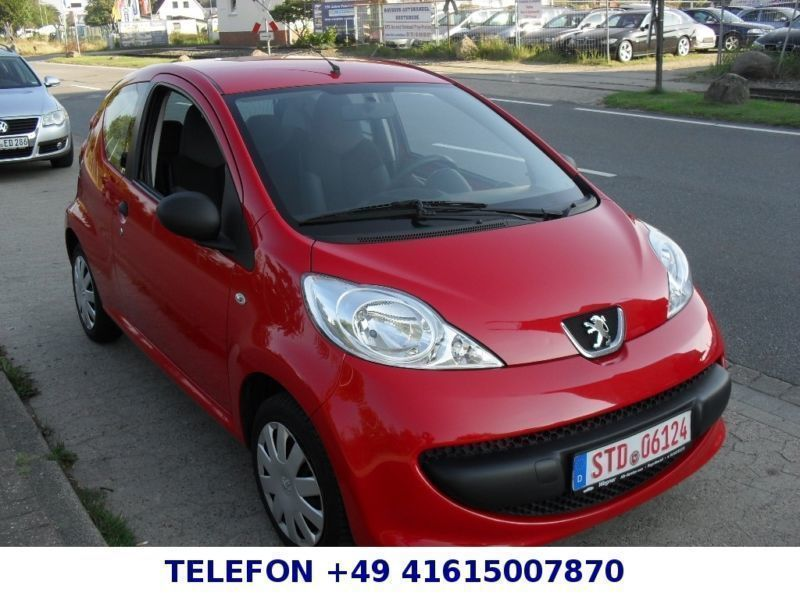 verkauft peugeot 107 petit filou 2 han gebraucht 2008 km in buxtehude. Black Bedroom Furniture Sets. Home Design Ideas