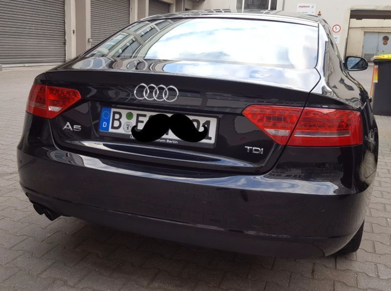 verkauft audi a5 2 0 tdi dpf s line gebraucht 2011 km in singen. Black Bedroom Furniture Sets. Home Design Ideas