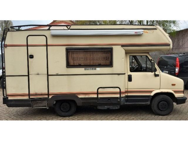 verkauft peugeot j5 wohnmobil markise gebraucht 1989