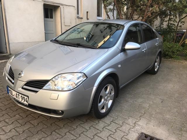 verkauft nissan primera 1.8 aut., gebraucht 2003, 149.000 km in