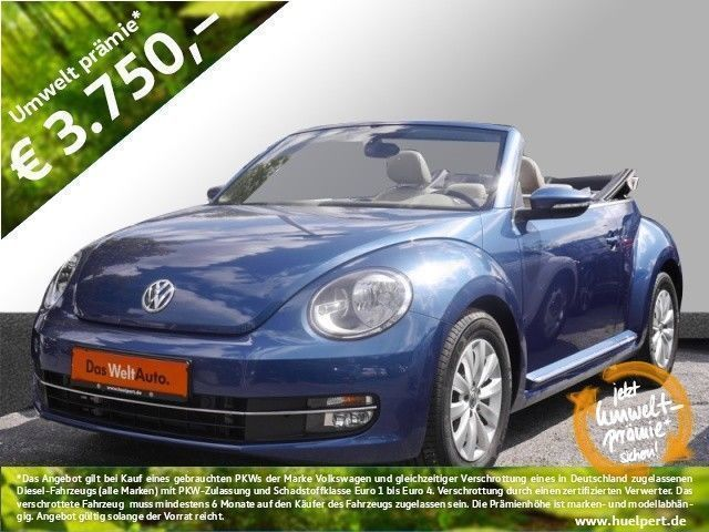 verkauft vw beetle cabrio 1 2 design l gebraucht 2016 9. Black Bedroom Furniture Sets. Home Design Ideas