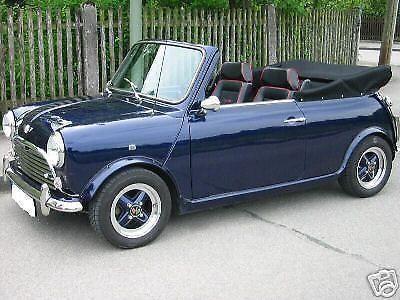 verkauft rover mini cooper mk 2 cabrio gebraucht 1992 61. Black Bedroom Furniture Sets. Home Design Ideas