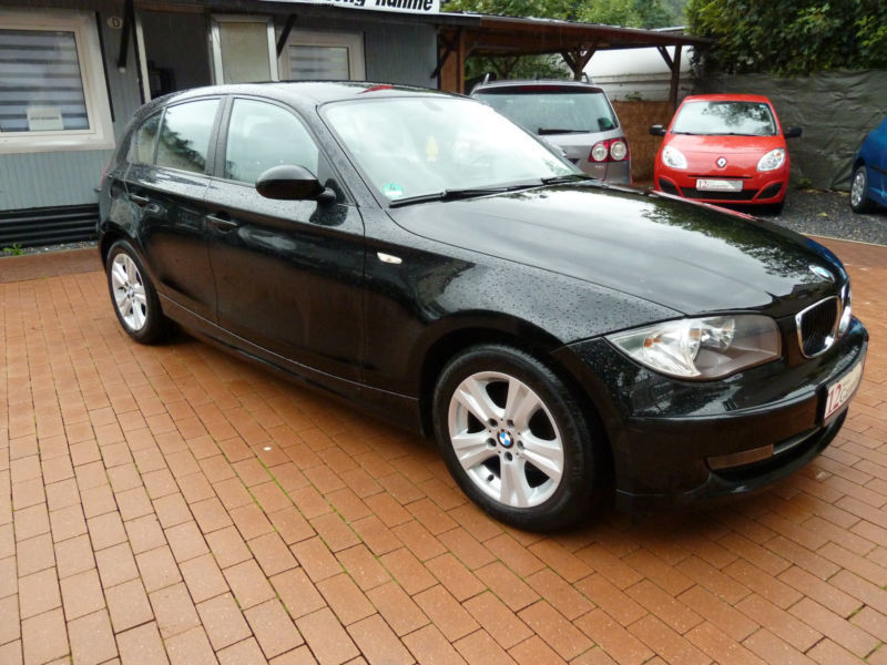 verkauft bmw 116 baureihe 1 lim i gebraucht 2009 km in hagen. Black Bedroom Furniture Sets. Home Design Ideas