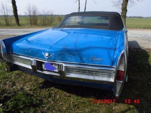 gebraucht cabrio guter zustand t v neu h kz cadillac deville 1967 km in hamburg lohbr gge. Black Bedroom Furniture Sets. Home Design Ideas