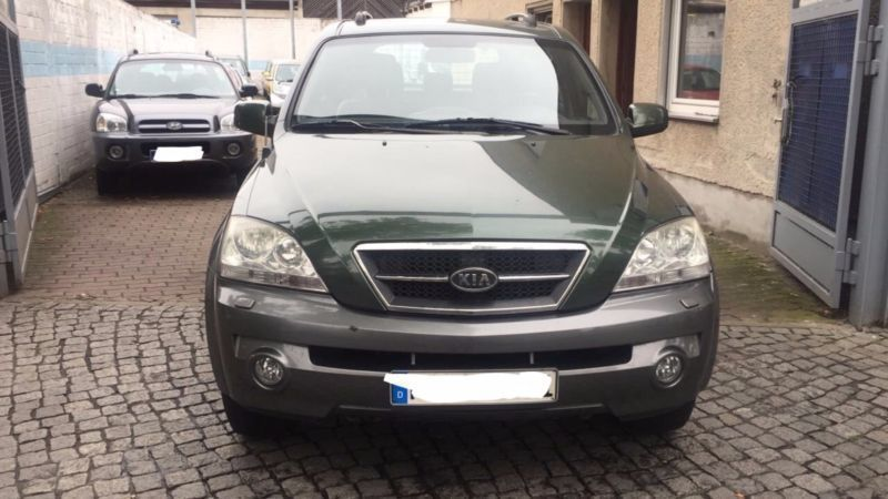 verkauft kia sorento 2 5 diesel automa gebraucht 2004 km in berlin. Black Bedroom Furniture Sets. Home Design Ideas