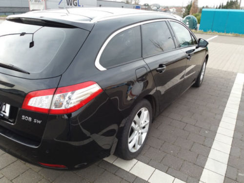 verkauft peugeot 508 sw e hdi fap 110 gebraucht 2011 km in ense. Black Bedroom Furniture Sets. Home Design Ideas