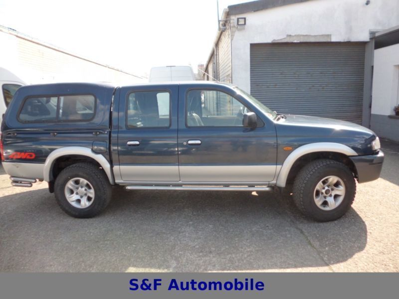 Verkauft Mazda B Series 2500 Pickup 4x Gebraucht 2002 253 000 Km