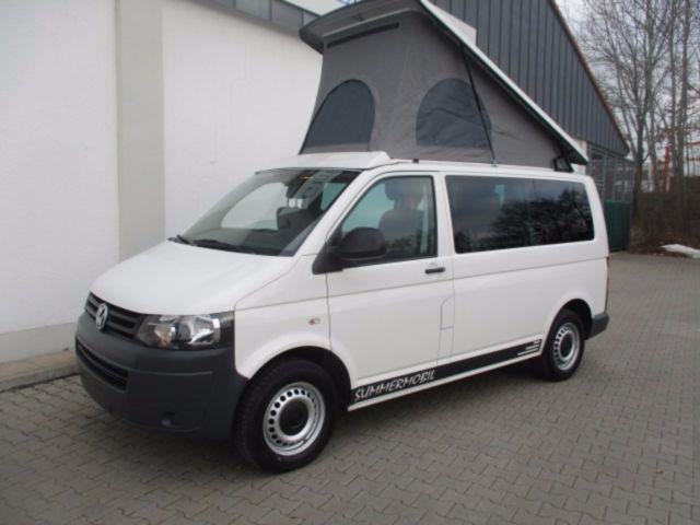 verkauft vw t5 wohnmobil summermobil a gebraucht 2011 km in schrobenhausen. Black Bedroom Furniture Sets. Home Design Ideas