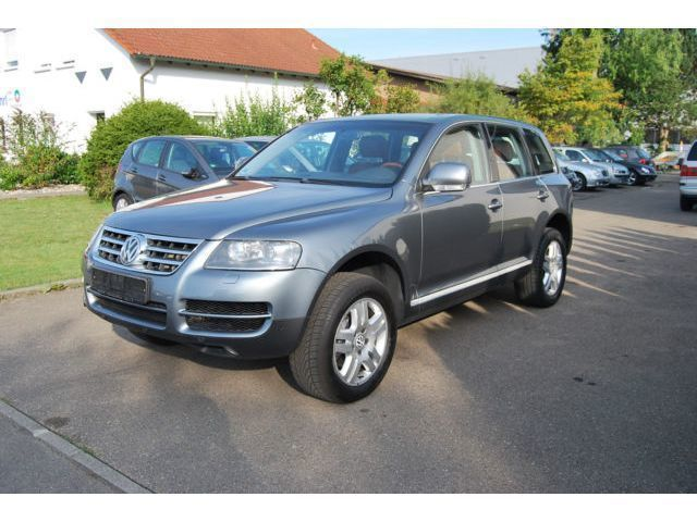 verkauft vw touareg 3 2 v6 automatik gebraucht 2006 km in birkenfeld. Black Bedroom Furniture Sets. Home Design Ideas