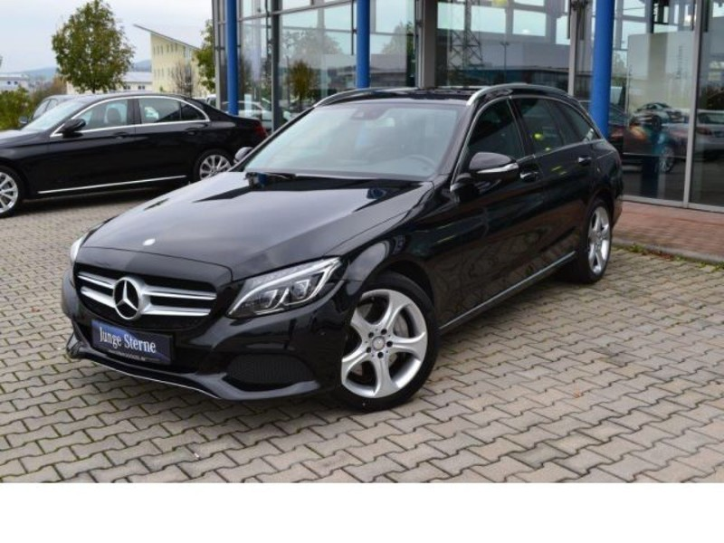 verkauft mercedes c400 4matic t modell gebraucht 2015 km in cham. Black Bedroom Furniture Sets. Home Design Ideas