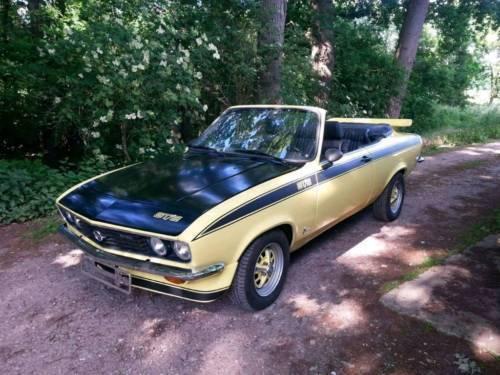 verkauft opel manta a cabrio gebraucht 1972 1 km in. Black Bedroom Furniture Sets. Home Design Ideas