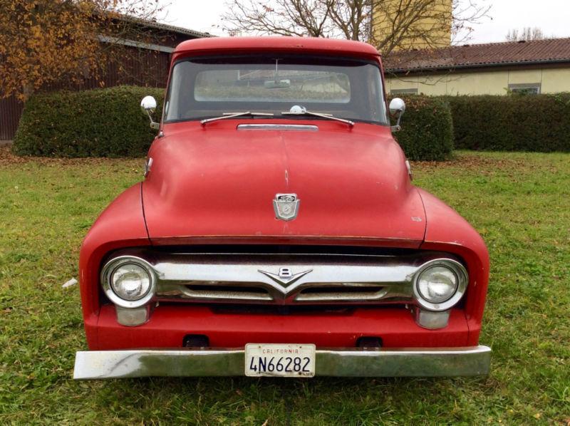 verkauft ford f100 f 100 pick up mi gebraucht 1956 9. Black Bedroom Furniture Sets. Home Design Ideas
