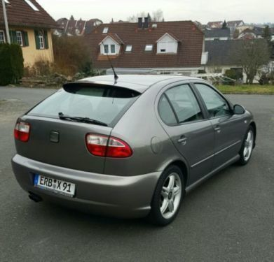 verkauft seat leon top sport gebraucht 2003 km in michelstadt. Black Bedroom Furniture Sets. Home Design Ideas