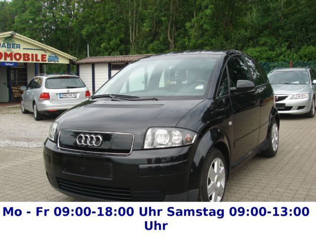 verkauft audi a2 1 4 klimaautomatik i gebraucht 2003 km in windhausen. Black Bedroom Furniture Sets. Home Design Ideas