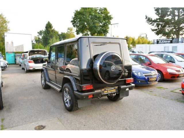 gebraucht g modell stationcdi mercedes g270 2005 km in m nchen. Black Bedroom Furniture Sets. Home Design Ideas