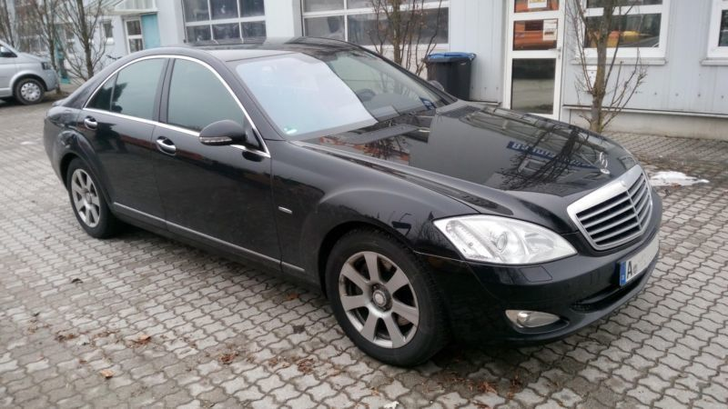 gebraucht s klasse lim cdi mercedes s320 2009 km in gersthofen. Black Bedroom Furniture Sets. Home Design Ideas