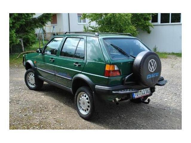 verkauft vw golf country syncro allrad gebraucht 1990 km in heidelberg. Black Bedroom Furniture Sets. Home Design Ideas