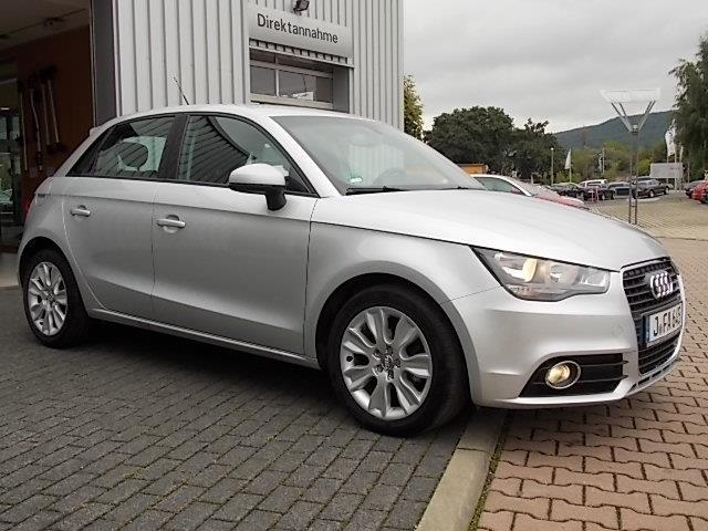 verkauft audi a1 sportback sportback 1 gebraucht 2013 km in jena. Black Bedroom Furniture Sets. Home Design Ideas