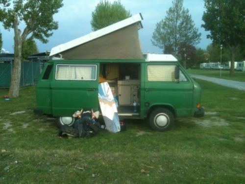verkauft vw t3 wesfalia campingbus h k gebraucht 1984 km in sennfeld. Black Bedroom Furniture Sets. Home Design Ideas