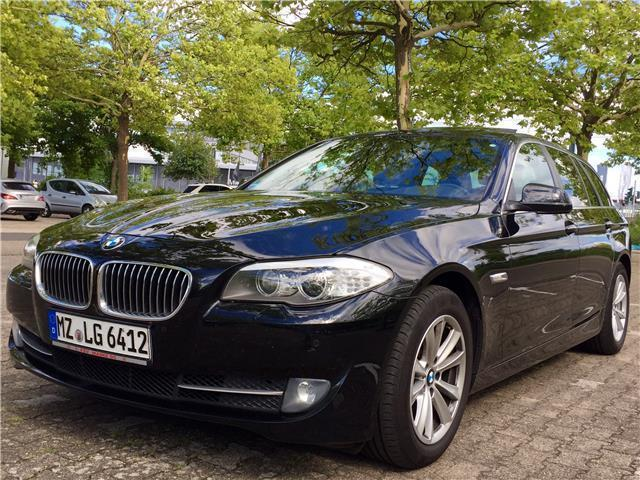 verkauft bmw 520 5er touring sport aut gebraucht 2012 km in mainz. Black Bedroom Furniture Sets. Home Design Ideas