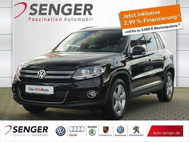 gebraucht VW Tiguan 2.0 TDI BM Lounge Sport & Style