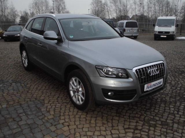 verkauft audi q5 2 0 tdi quattro xenon gebraucht 2010 km in bad lausick. Black Bedroom Furniture Sets. Home Design Ideas