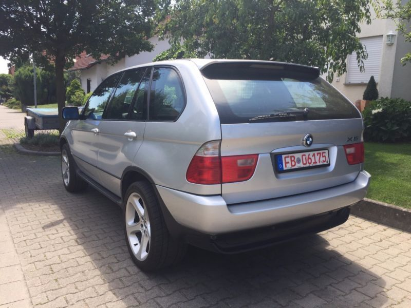 verkauft bmw x5 gebraucht 2003 km in butzbach. Black Bedroom Furniture Sets. Home Design Ideas