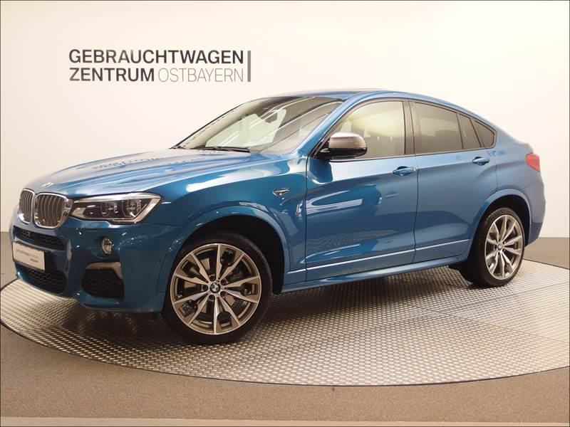verkauft bmw x4 m40i leder wei navi h gebraucht 2016. Black Bedroom Furniture Sets. Home Design Ideas