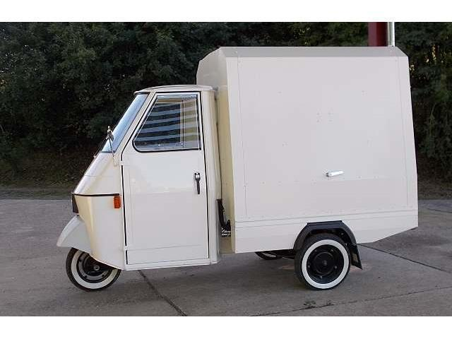 verkauft piaggio ape verkaufsmobil vin gebraucht 1983 km in. Black Bedroom Furniture Sets. Home Design Ideas