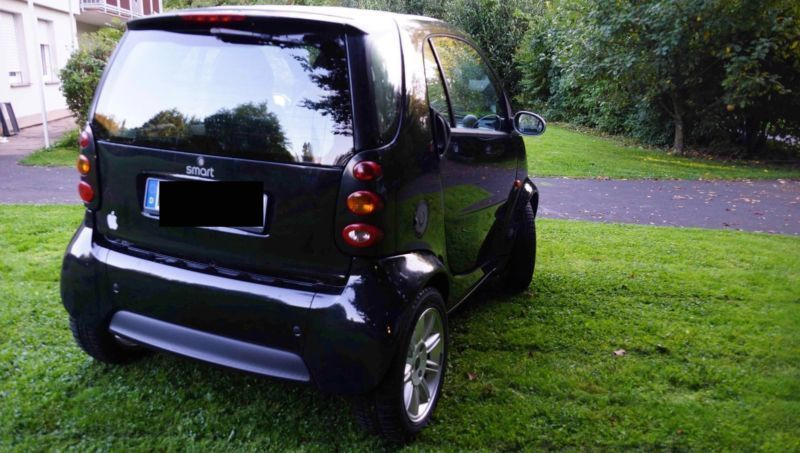 verkauft smart fortwo coup gebraucht 2003 km. Black Bedroom Furniture Sets. Home Design Ideas