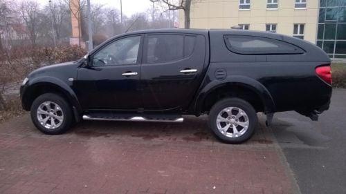 verkauft mitsubishi l200 doubel cab 4x gebraucht 2011 km in gotha. Black Bedroom Furniture Sets. Home Design Ideas