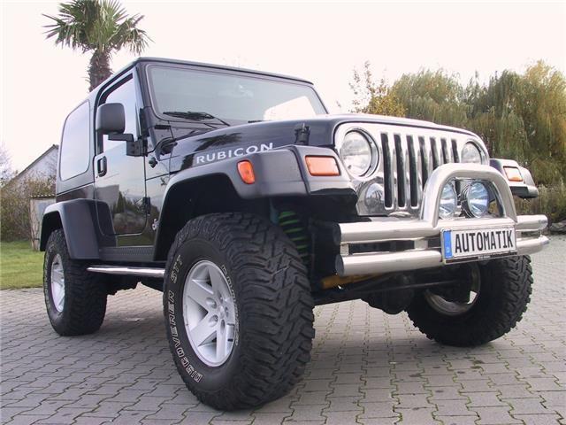 Verkauft Jeep Wrangler Tj 4 0 Rubicon Gebraucht 2004 48 997 Km