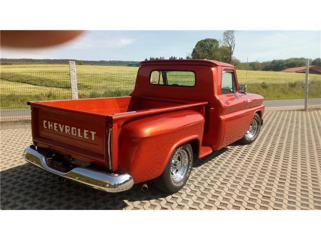 verkauft chevrolet c10 stepside v8 pic gebraucht 1965. Black Bedroom Furniture Sets. Home Design Ideas