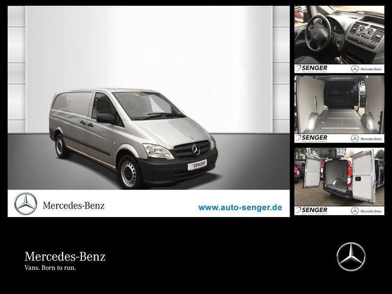 gebraucht Mercedes Vito 113 CDI KA/L+KLIMA+AHK+HECKTÜR+3 SITZE