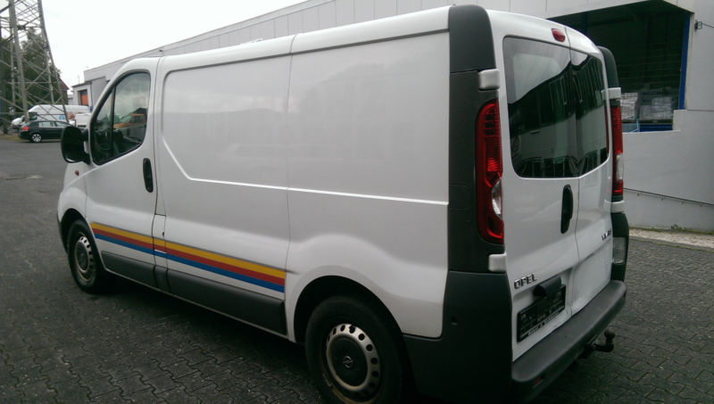 verkauft opel vivaro 2 0 cdti l1h1 gebraucht 2007 km in paderborn. Black Bedroom Furniture Sets. Home Design Ideas