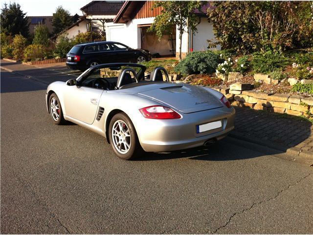 verkauft porsche boxster gebraucht 2005 km in frankfurt am main. Black Bedroom Furniture Sets. Home Design Ideas