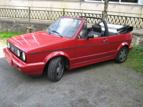 gebraucht cabrio vw golf cabriolet 1989 km in ulm. Black Bedroom Furniture Sets. Home Design Ideas