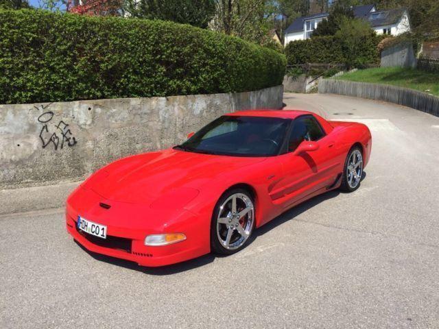 verkauft corvette z06 red devil gebraucht 2002 79. Black Bedroom Furniture Sets. Home Design Ideas