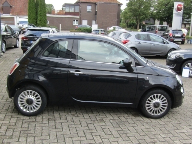 verkauft fiat 500 lounge 1 2 panorama gebraucht 2012 km in ibbenb ren. Black Bedroom Furniture Sets. Home Design Ideas