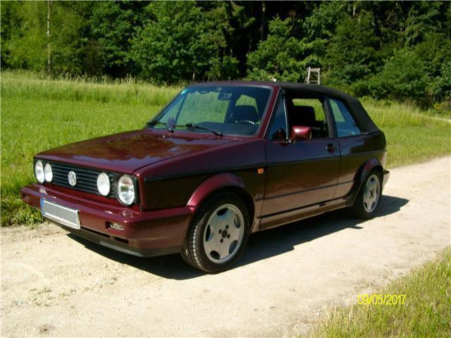 verkauft vw golf cabriolet cabrio gebraucht 1994 km in altom nster. Black Bedroom Furniture Sets. Home Design Ideas