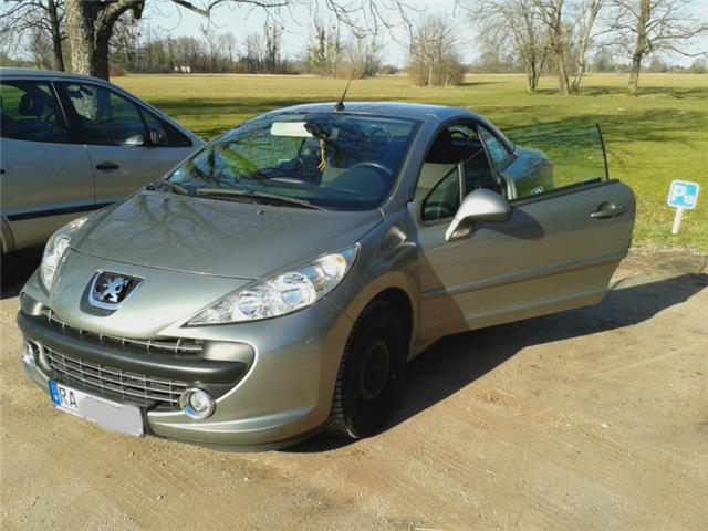 verkauft peugeot 207 cc 120 vti sport gebraucht 2008 km in kuppenheim. Black Bedroom Furniture Sets. Home Design Ideas