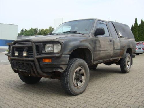 verkauft vw taro 2 5 diesel 4x4 pickup gebraucht 1997 km in bad neustadt a d. Black Bedroom Furniture Sets. Home Design Ideas