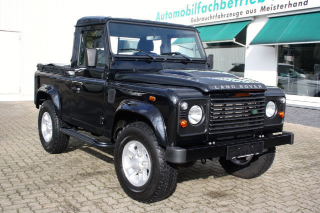 verkauft land rover defender 90 pick u gebraucht 2009 km in nordrhein westfalen. Black Bedroom Furniture Sets. Home Design Ideas